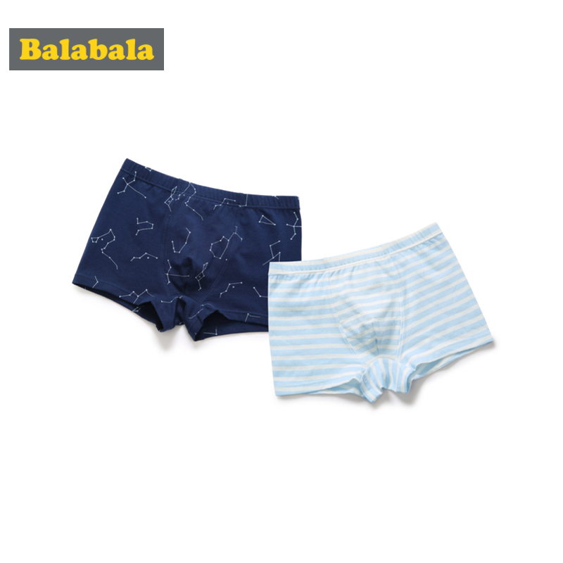 Balabala 2-Pack Toddler Boy Striped Brief Boxers Children Kids Boy Soft Cotton Graphic Underpant Underwear Ventilate UnderpantBalabala 2-Pack Toddler Boy Striped Brief Boxers Children Kids Boy Soft Cotton Graphic Underpant Underwear Ventilate Underpant