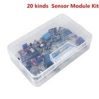 Smart Electronics 20 Kinds Version Sensor Kit Module for arduino Diy Starters Kit with Plastic Box