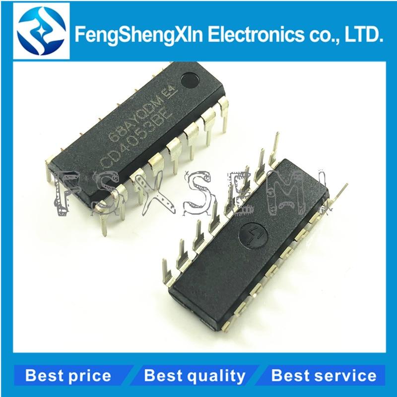 Triple 2-channel analogue multiplexer//demultiplexer DIP HEF4053BP