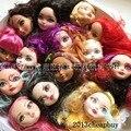 Новый 5 шт. кукольные головы для монстр вкл высокой куклы, Кукольные головы для с тех пор высокие куклы, Девушки подарки DIY глав