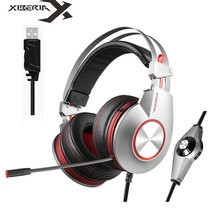 Wholesale XIBERIA K5 Best Gaming Headphones with Microphone USB 7.1 Sound/3.5mm Heavy Bass Game Headset for PC Gamer PS4 Xbox one Phone