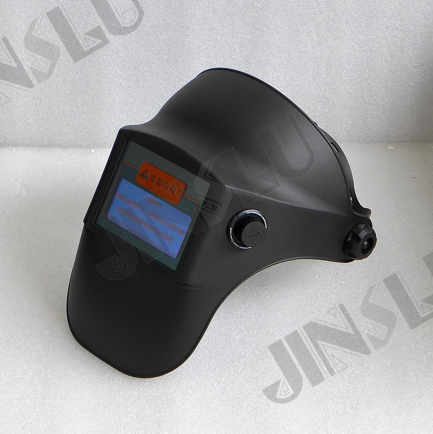 Light Weight 330g Good Ventilation Welding Helmet Solar Powered Auto