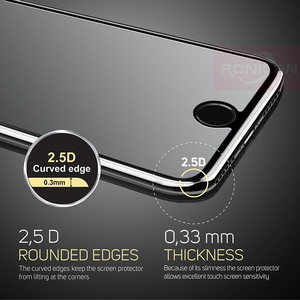 Image 3 - RONICAN 9H 2.5D Tempered Glass For Xiaomi Redmi 5A 4A 3X 3S 3 Pro Note 2 3 Pro For Xiaomi Mi5 Mi4C Mi4i Mi4s Protective Film