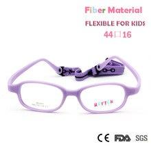 03575664ff9 Kids Glasses Frame with Cord New Fiber Screwless Optical Eyewear  Unbreakable Eyeglasses Boys Girls 10pcs(