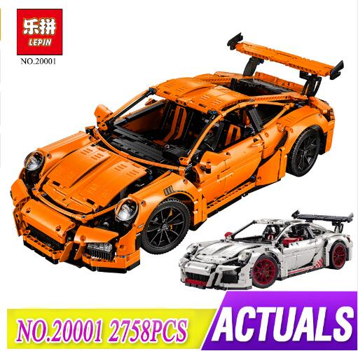 Lepin 20001 Technic Racing Car Model Kits Blocks Bricks DIY Boys Toy Compatible With 42056