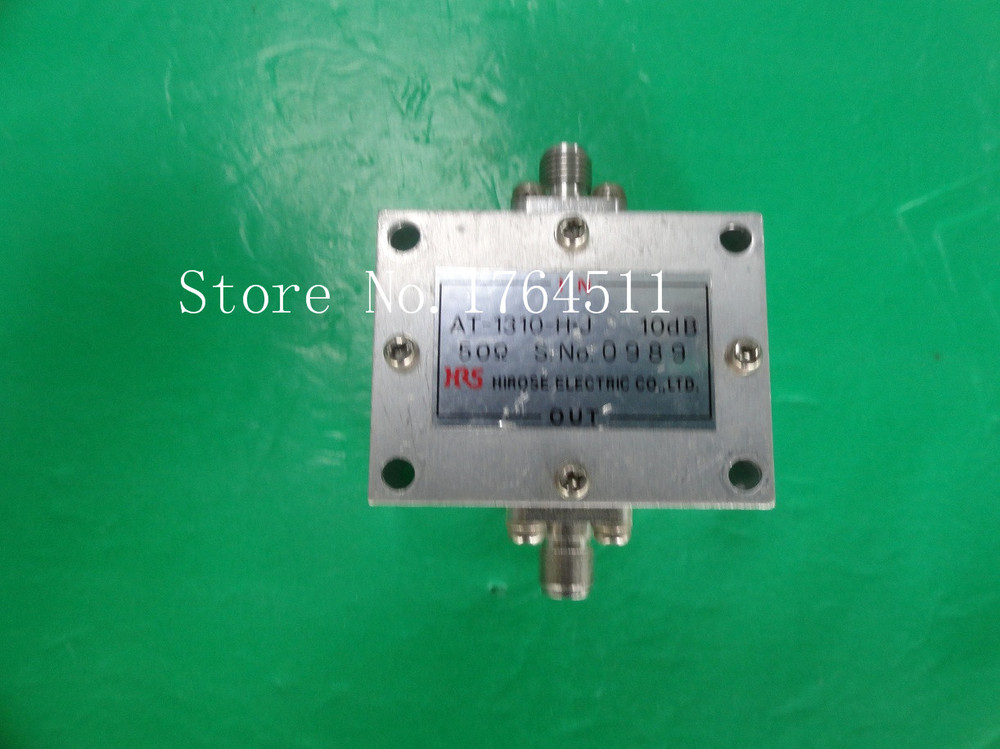 [BELLA] Hirose HRS AT-1310-H - J 10dB SMA Coaxial Fixed Attenuator