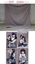 Chegada nova Tye Die-casamento Muslin fundo F127, foto do bebê pano de fundo, fundo fotografia 200 cm * 300 cm