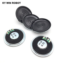 Купить с кэшбэком 5pcs/lot New Ultra-thin speaker 8 ohms 2 watt 2W 8R speaker Diameter 40MM 4CM thickness 5MM