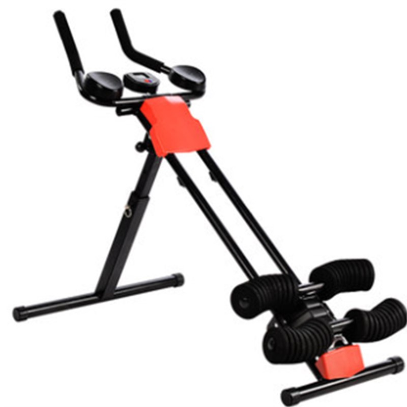 foldable comprehensive fitness exercise with adjustable waist, abdomen exercise Supine Board, steel frame household sit up bench