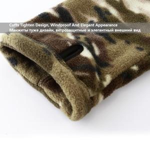 Image 4 - Mege Marke Herbst Winter Military Fleece Camouflage Taktischen männer Kleidung Polar Warme Multicam Armee Männer Mantel Outwear Hoodie
