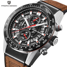 PAGANI DESIGN 2019 mens watches Top Brand Luxury Waterproof Quartz Watch men Sport Military Men's Wrist Watch Relogio Masculino men s watch top brand pagani design vintage punk 3d skull watch men clock male luxury military aviator quartz relogio masculino