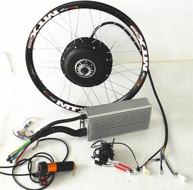 26 5kw Electric Bike Kit 5000w Brushless Hub Motor Kit