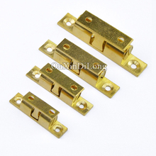 NEW 10PCS Brass Cupboard Drawer Cabinet Double Ball Catch Door Latch Touch Beads Lock Spring Clip Cabinet Door Catches