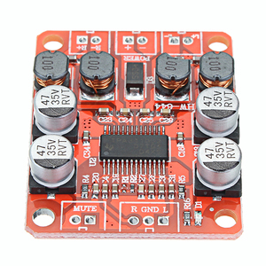 Image 1 - LEORY 5pcs TPA3110 DC 12V Dual Channel Stereo Digital Amplifier Board For 4/6/8/10 Ohm Speaker 24V 2x15W