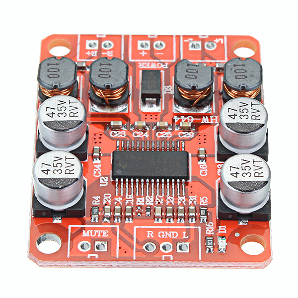 LEORY 5pcs TPA3110 DC 12V Dual Channel Stereo Digital Amplifier Board For 4/6/8/10 Ohm Speaker 24V 2x15W