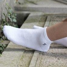 Gratis Verzending 10 paren/partij Man zuiver Katoen Mode Sokken grote size EU39 44 US8 10 hoge kwaliteit lage cut mannen sox mannelijke sok