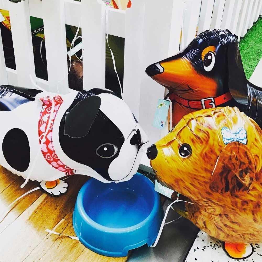Hỗn hợp Đi Bộ Động Vật HELI Bóng Chó Mèo Dễ Thương Gấu Trúc Chi Khủng Long Hổ thú cưng không Ballons trang trí tiệc sinh nhật trẻ em và người lớn