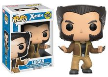Official Funko pop Marvel: X-Men – Logan Wolverine Vinyl Action Figure Collectible Model Toy with Original box