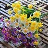 Daisy Artificial Flowers Outdoor UV Resistant
