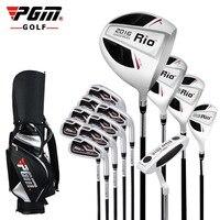 PGM genuine mazze da golf club set completo 13 + borsa degli uomini per i principianti impostare il valore del club
