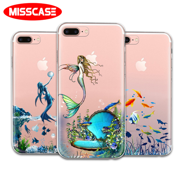 new style b310e 00185 US $2.11 |MISSCASE Mermaid Phone Case for iphone X 7 8 Plus Soft TPU  Silicon Full Protective coque Cover for iPhone 6 6S plus 5 5S SE Case-in  Fitted ...