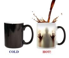 The walking dead Becher farbwechsel Wärmeempfindlicher Keramik 11 unze kaffeetasse überraschung geschenk