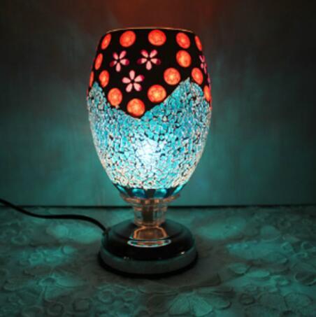 Свет красочный стекла, настольные лампы доставка для изучения спальня рядом комплекс Античная мозаика лампа горелки plug лампа керосиновая л...