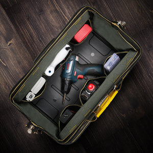 Image 3 - Multifunktions Werkzeug Tasche Große Kapazität Verdicken Professionelle Reparatur Werkzeuge Tasche 13/16/18/20 Messenger Toolkit Tasche