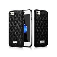 XOOMZ Luxe Lamsleer 5 Kleuren Quilten Diamond Soft Case Voor iPhone7 8 4.7