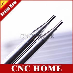Image 3 - 10 個 3.175*1.0*3 ミリメートル 2 ストレート刃フライスカッター、 CNC 彫刻ツール、木材ルータービット、彫刻泡、 EVA 、合板、 MDF 、 PVC