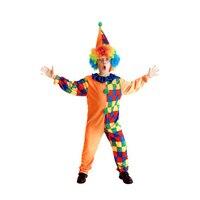 Costumi di Halloween Per Bambini Bambini Circo Clown Costume Impertinente Arlecchino Fantasia Fantasia Infantil Cosplay Abbigliamento per Ragazzi