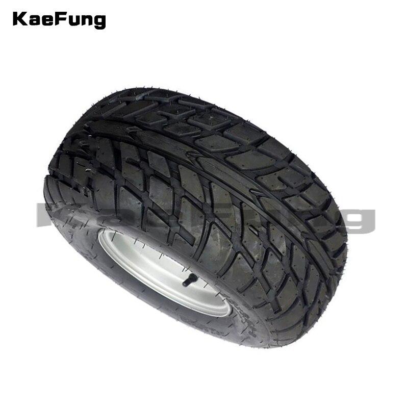 ATV 8 pouces sous vide haute résistance à l'usure pneus 18X9. 50-8 18*9.50-8 (220/55-8) pneus de route avec roues en fer