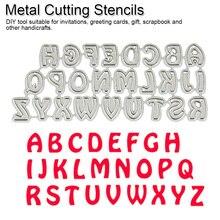 26pcs/Set Alphabet Letter Metal Cutting Dies