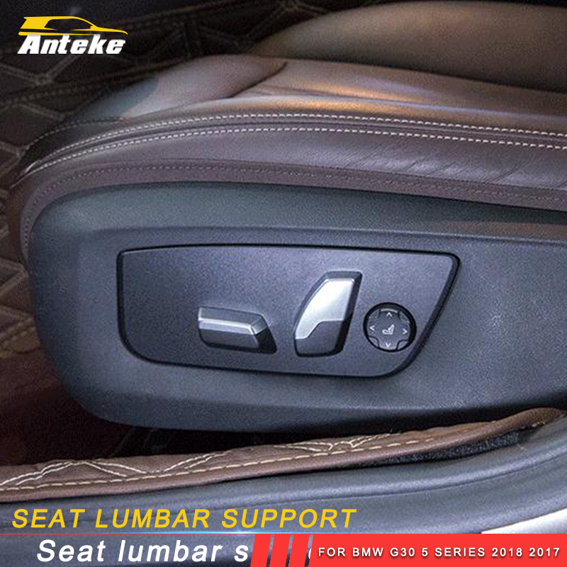 ANTEKE Auto Car seat lumbar support refit Interior Accessories For BMW G30 5 series 2018 2017
