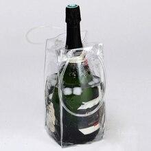 Быстрый охладитель для вина из ПВХ сумка для Охлаждения пива на открытом воздухе гелевая сумка со льдом для пикника модная мешки Охладитель вина охладители сумка «Холодное сердце» охладитель для бутылок