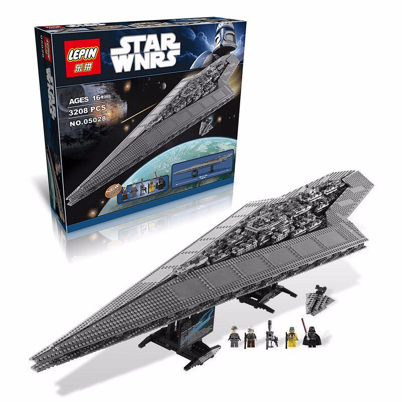 LEPIN 05028 Star Wars Building Blocks Imperial Star Destroyer Model action Minifigure Bricks Toys Compatible with