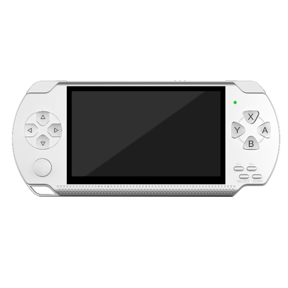 """4.3"""" Pocket Size Fun 8G Kids Portable Multifunction Handheld Player Easy Operation Big Screen Gift Game Console Retro HD"""