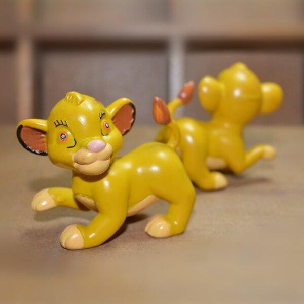 434 Dorigine Le Roi Lion Simba Mignon Lion Animal Pvc Figure Jouet Modèle Enfants Cadeau Danniversaire Dans Action Figurines De Jouets Et