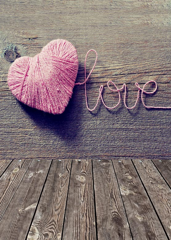Coeur rose en forme d'amour antipli lavable polaire photographie toile de fond pour la fête d'anniversaire arrière-plans photographiques accessoires S-943-A