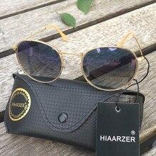 High Quality Real Glass Lens Round Sunglasses Women Men Luxury G15 Driving Sun Glasses Ladies Female UV400