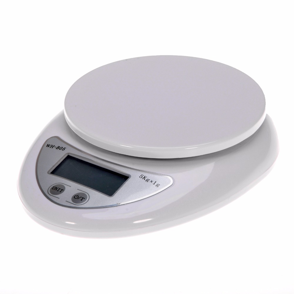 Portable 5kg 1g digital scale lcd electronic scales steelyard 3kg 0 1g kitchen scales postal food balance measuring weight libra