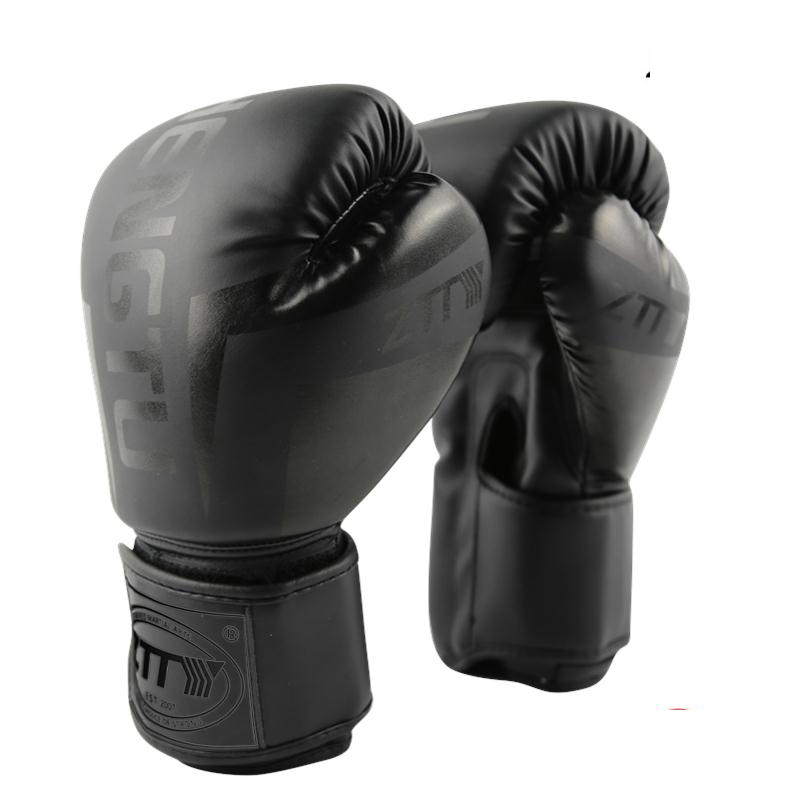 6 8 10 12 14OZ Kids Women Men Boxing Gloves Sanda Sparring Muay Thai MMA Karate