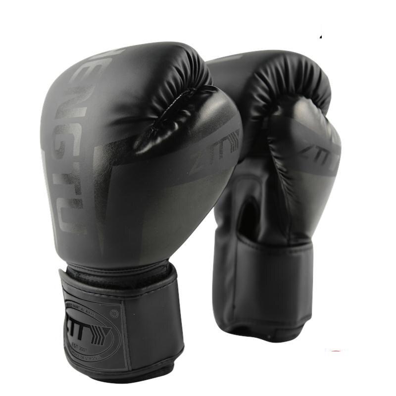 6/8/10/12 oz Bambini Donne/Uomini Guanti Guanti Da Boxe Sanda Sparring Muay Thai MMA Karate pugno Training Guanti Kickboxing Boxe De Luva DEO