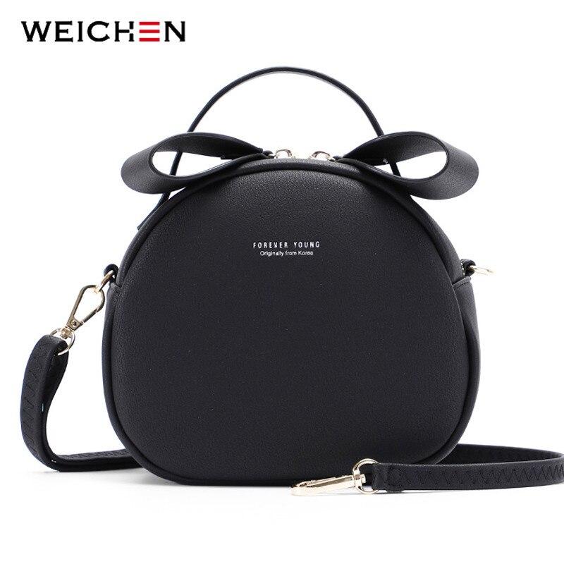 Ladies Handbag Messenger-Bags Sac Geometrical Round Circular Girls Women's Crossbody