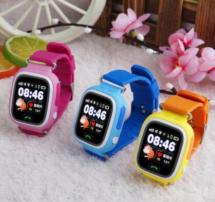 Relógio de pulso da criança chamada bebê vtech localização gps rastreador anti perdido smart watch crianças