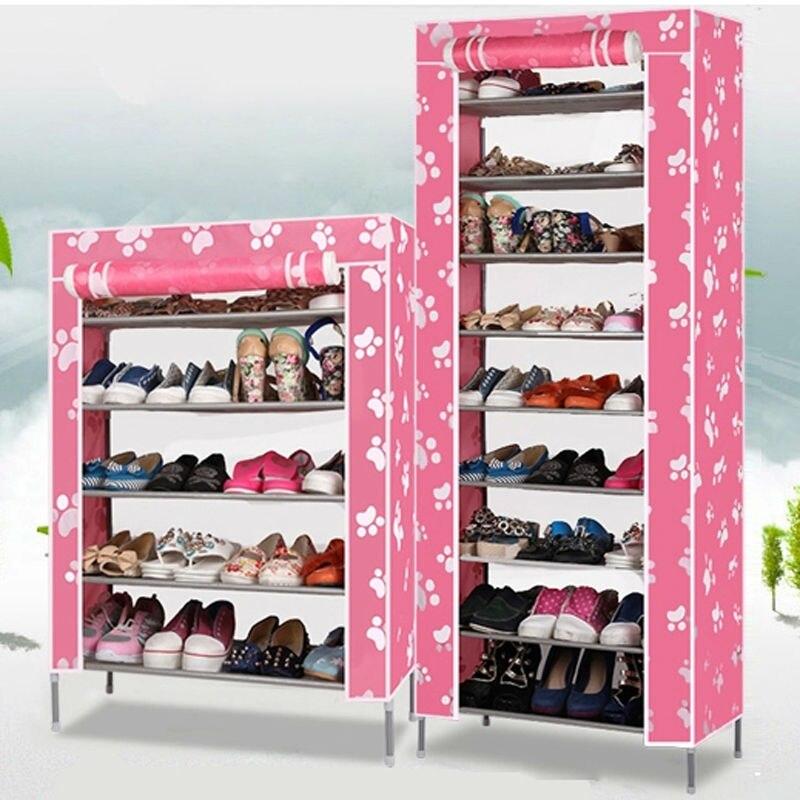 Ru domestic delivery non woven fabrics shoe rack shoe cabinet for ...