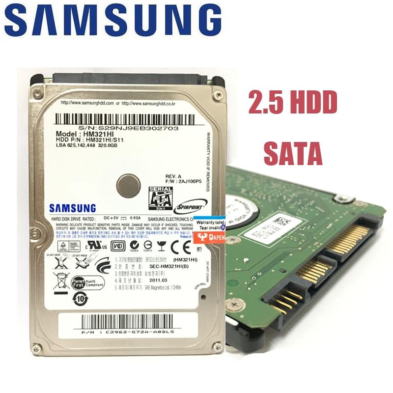 SAMSUNG Taccuino Del Computer Portatile 500 gb 80 gb 160 gb 250 gb 320 gb 160g 250g 320 gb 500g 1 tb 2.5 HDD 5400 rpm 8 m SATA Internal Hard Drive disk