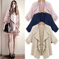 Big Discount 2015 Fashion Women Slim Loose Cardigan Jackets Sexy Lady 5XL Long Sleeve Winter WindCoat Plus Size