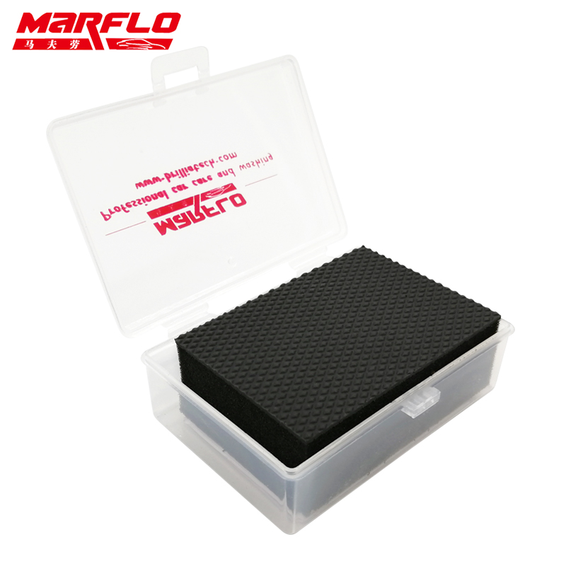 Car Wash Cleaning Magic Clay Bar Pad Block Mitt New Sponges Car Wash Sponge Auto Detailing  MARFLO By Brilliatech