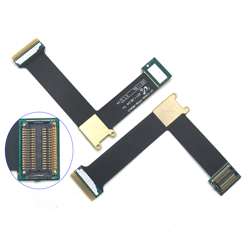 New LCD Display Screen Connector FPC Ribbon For Samsung E2600 GT-E2600 Main Board Motherboard Flex Cable Replacement